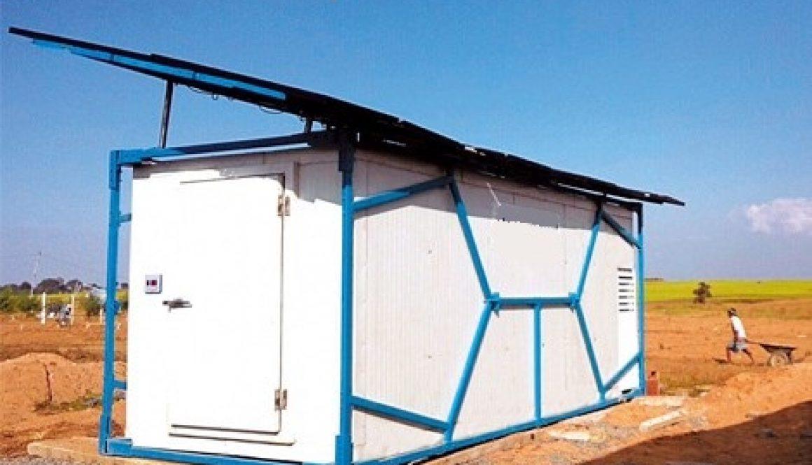 offgrid solar fridge